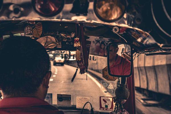 Sicht aus dem Tuktuk