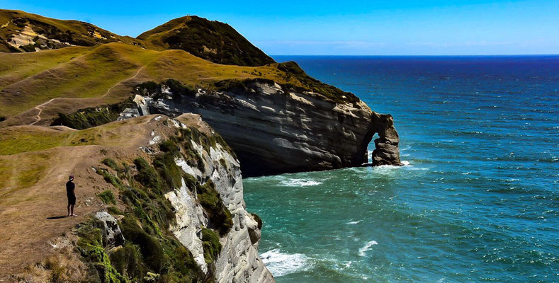 Nördlichster Punkt der Südinsel - Cape Farewell