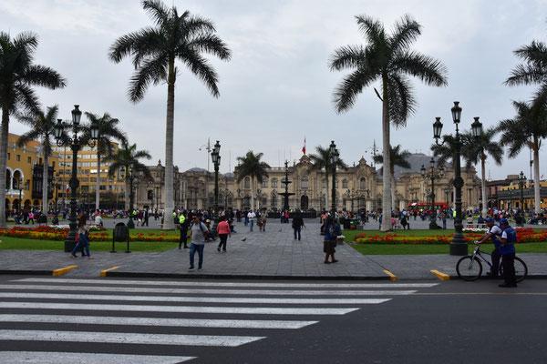 Plaza de Armes Lima