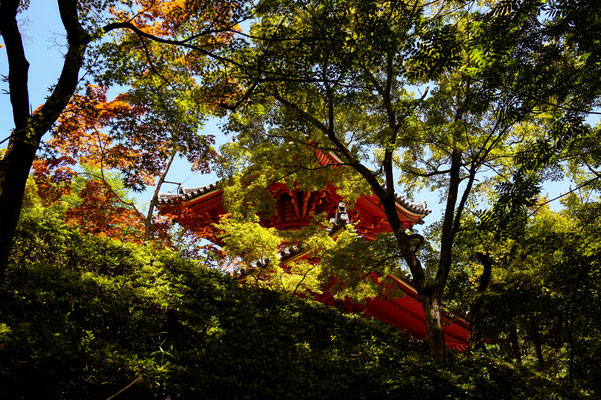 In Hiroshima gibt es auch ruhige Orte