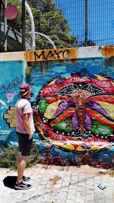 Überall Graffitis für mich