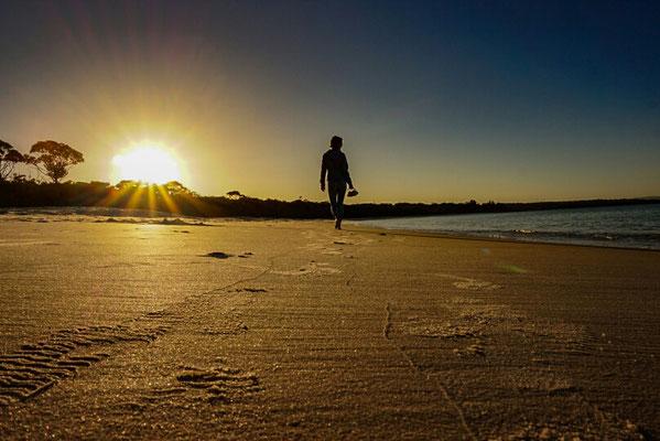 Sonnenuntergang am Jervis Bay