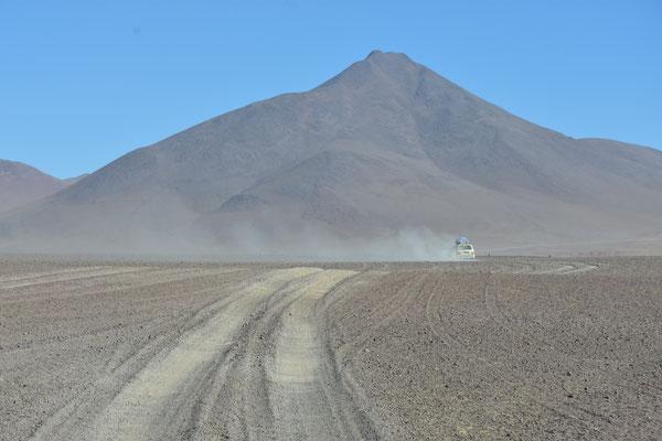 Es sah aus wie auf dem Mars, überall Vulkane!