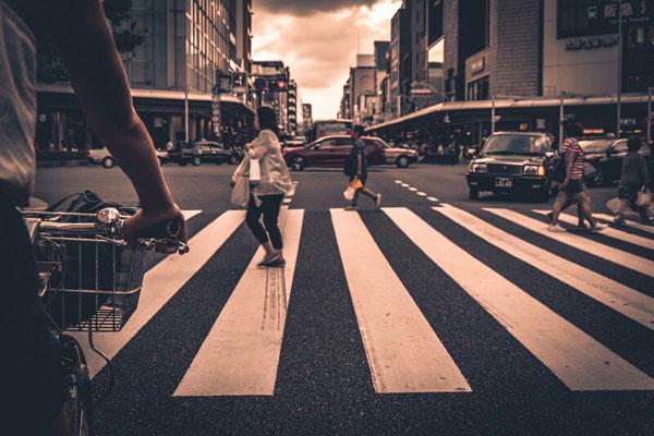... um Kyotos Straßen unsicher zu machen