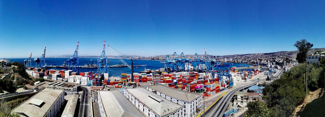 Hafen Valparaiso