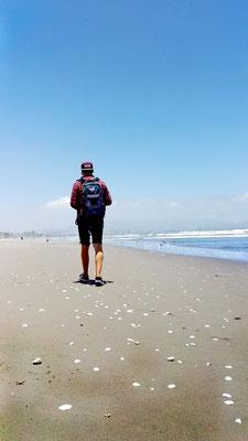 Ich am Strand von La Serena