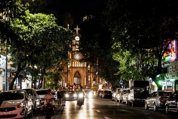 Kathedrale in Hanois Altstadt