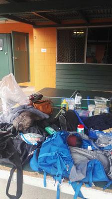 Chaos nach 4 Wochen Camperleben