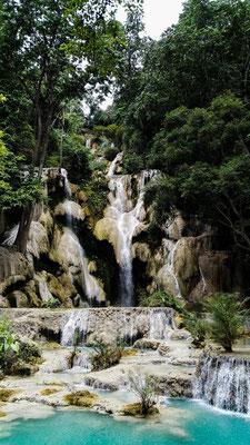 Kuangsi Wasserfälle