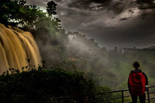 Elefantenwasserfälle im Hochland