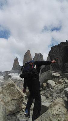 Kletterpartie mit Aussicht