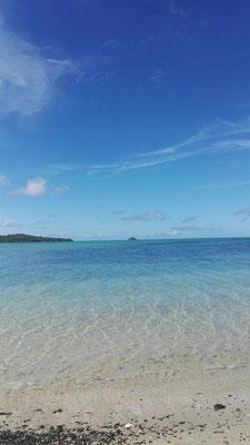 Blau, blauer, Fiji-Meer