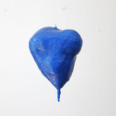 Artist Eva Kunze - Blue heart - Verbunden