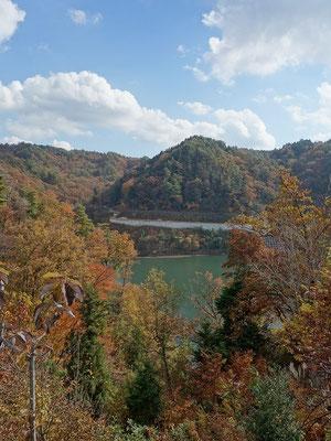 小里川ダム風景