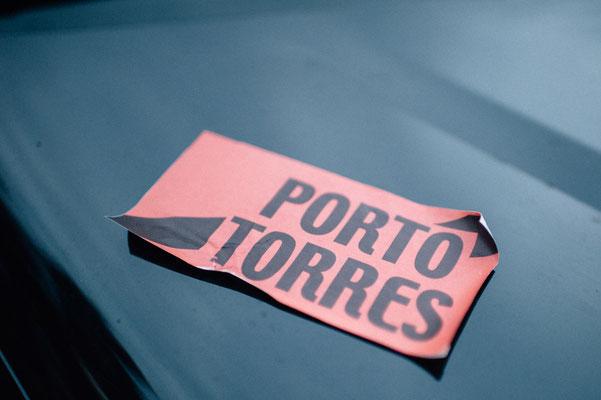 Ankunft auf Sardinien in Porto Torres