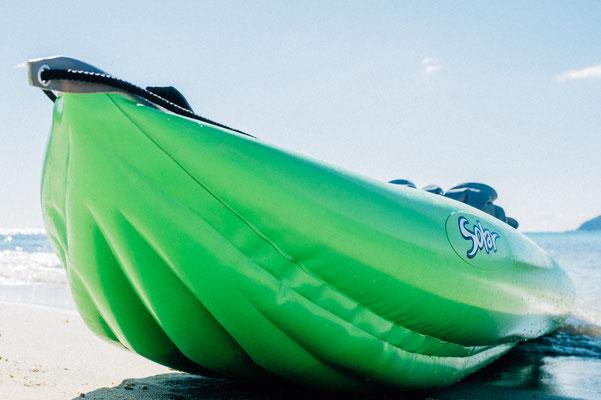 Solar 410 C aufblasbares Kayak für 1-2 Erwachsene und ein Kind