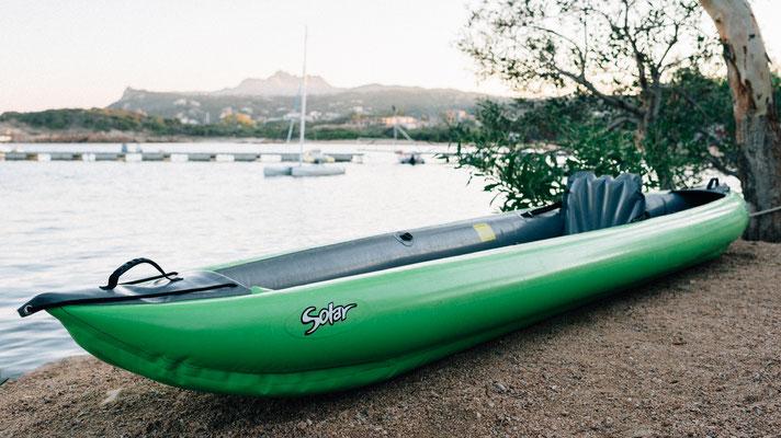 Solar 410 C Kayak als Einsitzer