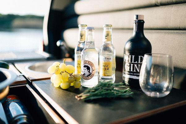 Wild Gin aus dem Schwarzwald mit kräftigem Wildkräuteraroma
