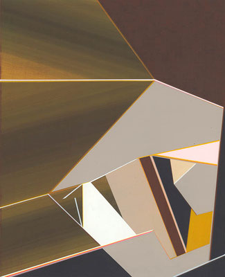 Pacman / acrylic on paper / 25,6 x 21 cm