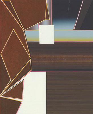 Doom / acrylic on paper / 25,7 x 21 cm