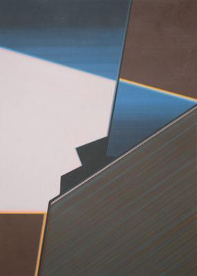 TONI / acrylic on paper / 30 x 20 cm