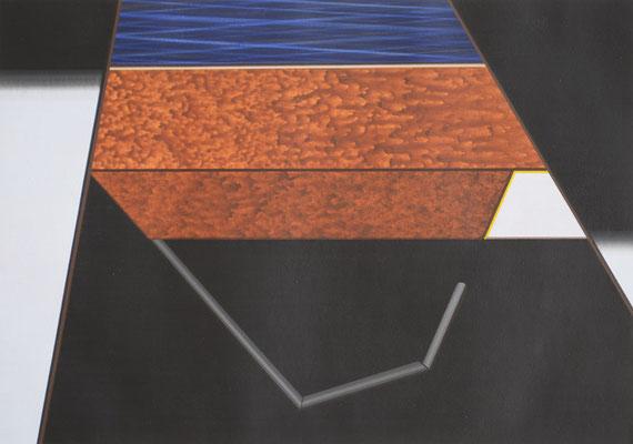 FARGO 2 / acrylic on paper / 20 x 30 cm