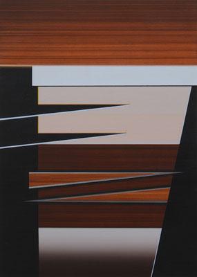 FARGO 1 / acrylic on paper / 30 x 20 cm