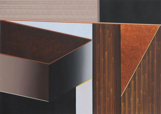 FARGO 3 / acrylic on paper / 20 x 30 cm