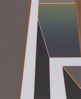 Soli 4 / acrylic on paper / 25,5 x 21 cm