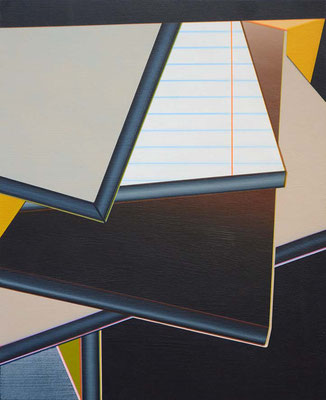 Pozo / acrylic on paper / 25,7 x 21 cm