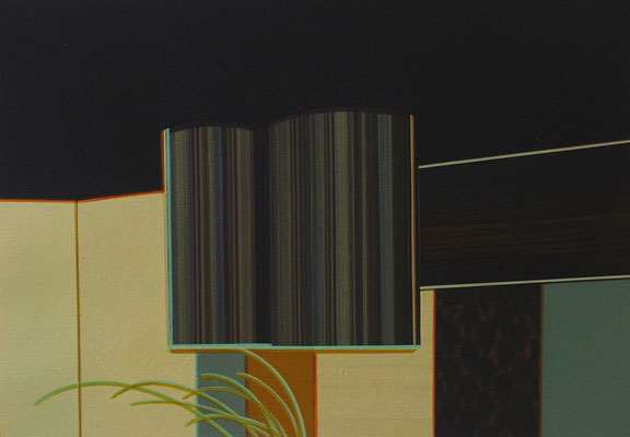 SYMBIOSE / acrylic on paper / 13,5 x 18 cm