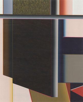Balboa / acrylic on paper / 25,9 x 21 cm