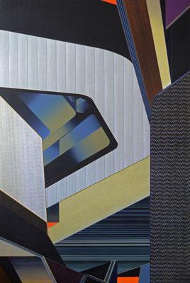 WASSERKOPF / acrylic on canvas / 150 x 100 cm