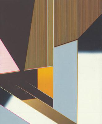 Dawn / acrylic on paper / 25,7 x 21 cm