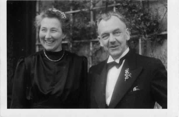 Dr. Friedrich und Charlotte Gehrke 1946