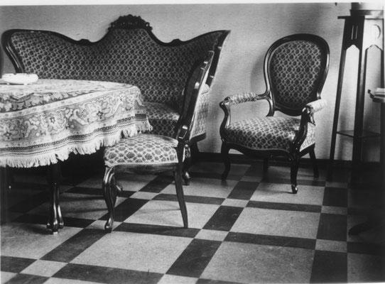 Patientenaufenthaltsraum 1957