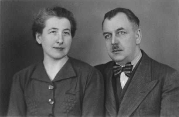 Dr. Friedrich und Charlotte Gehrke 1930er