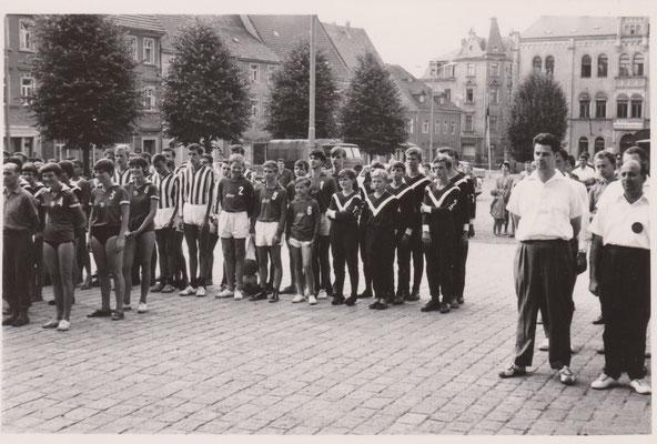 Eröffnung DDR-Meisterschaft Volleyball in Dippoldiswalde