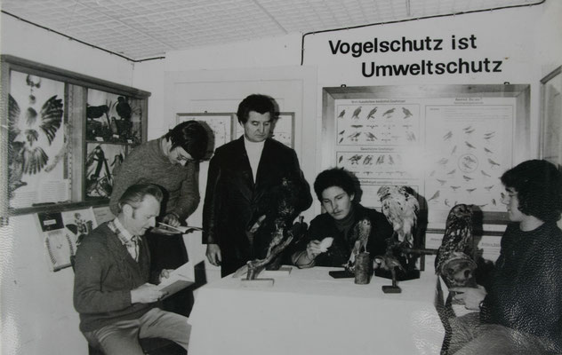 v.l. Robert Neugebauer, Rainer Petrasch, Fritz Kühnemund, Peter Weiß