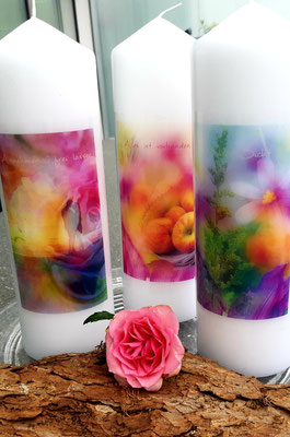 Kerzen von Herzen Cornelia Lustenberger