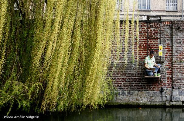 JC FAREY Résidence à l'école d'art de Douai - Ponton pour artiste - Printemps 2018