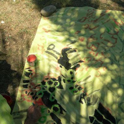 JC FAREY Relevés d'ombres portées Phoenix août 2012