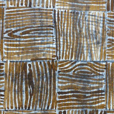 JC Farey Sans titre (faux bois) 23-01-2000 (détail)