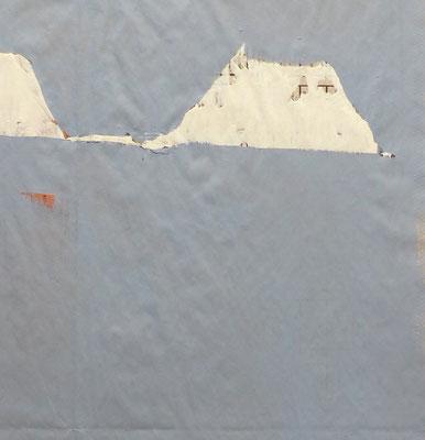 JC Farey Sans titre (tomettes bleu) 17-11-2001 (détail)