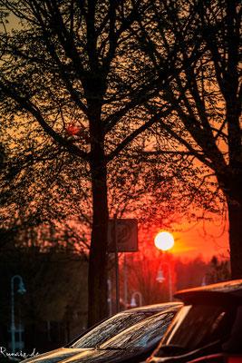 Sonnenuntergang Gouleystraße Morsbach