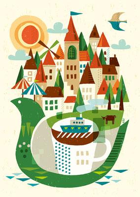 旅と紅茶と風景と