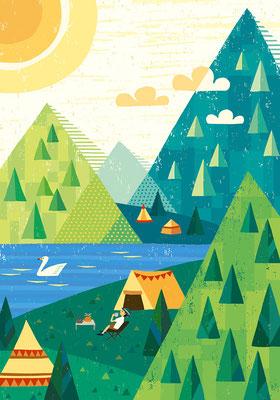夏空キャンプ