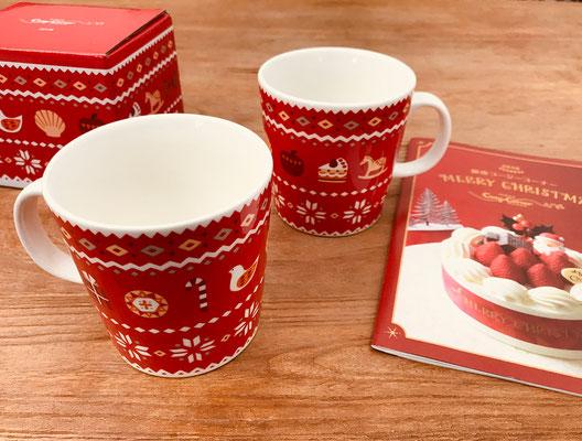 銀座コージーコーナー クリスマスノベルティマグ