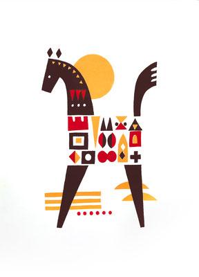 Horse(シルクスクリーン印刷)