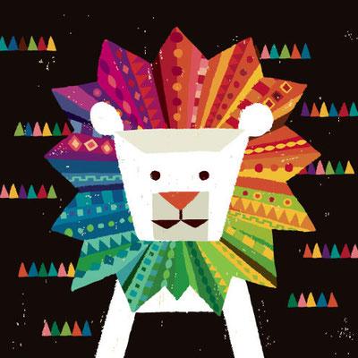 Color of a Lion